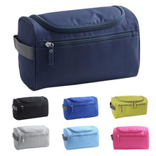 Waterproof Nylon Luxury Makeup Bag Cosmetic Cases Travel Brand Bags Women Organizer Make Up Case Men Hanging Wash Toiletry Bag