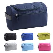Waterproof Nylon Luxury Makeup Bag Cosmetic Cases Travel Brand Bags Women Organizer Make Up Case Men Hanging Wash Toiletry Bag