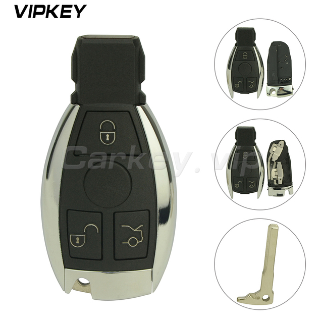 US $15 94 20% OFF|Remotekey 3 button Smart car key shell remote key fob  case For Mercedes Benz C E Class 2010 2011 2012 2013 2014 -in Car Key from