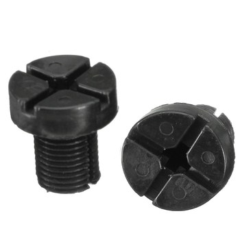 17111712788 2x Radiator Hose Bleed Vent Screw Plug Bleeding For BMW 3 Series E30 E36 E46 E90 image