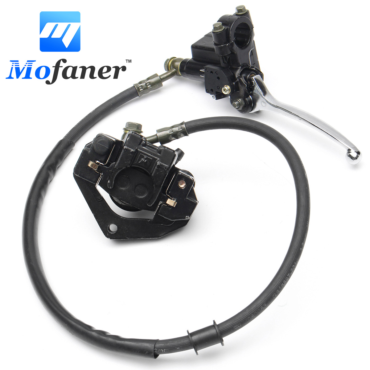 Front Hydraulic Caliper Brake Assembly For 50cc 70cc 110cc 125cc Dirt Pit Bikes motorcycle rear hydraulic brake master cylinder pump for 50cc 70cc 110cc 125cc 150cc 250cc thumpstar atv pit pro dirt bike