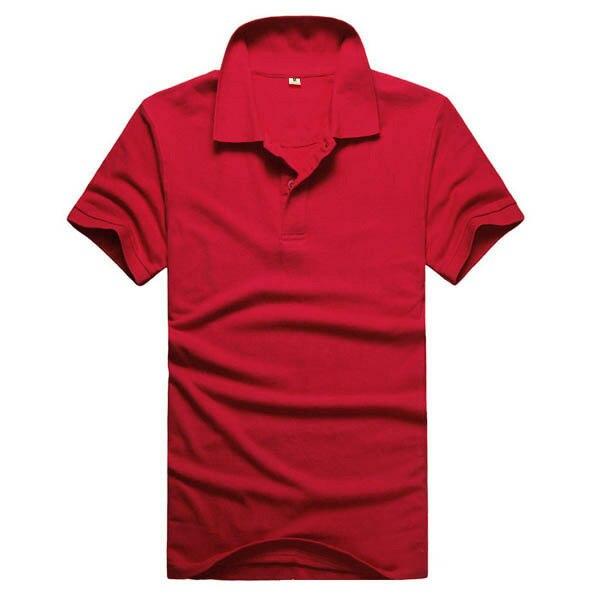 2019 Cotton Casual Short Sleeve Mens Polos Shirts Camisa Polos Shirt Men Design Breathable Plus Size