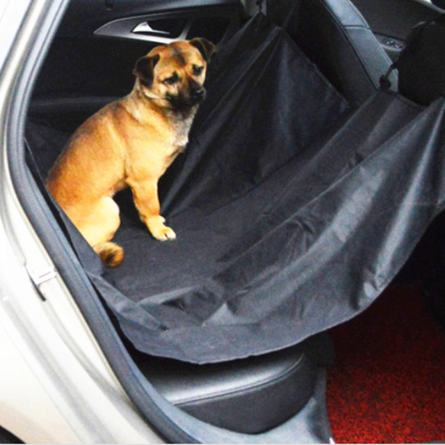 Pet Car Seat Cover Dog Rear Bench Waterproof Hammock Protection In