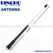 10 pcs rubber telescopic uhf 400-470MHz walkie talkie antenna, universal radio antenna sma female connector