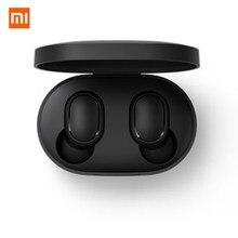 Xiaomi redmi airdots 2 tws bluetooth fone de ouvido estéreo baixo bt 5.0 eeadphones com microfone handsfree fones controle ai