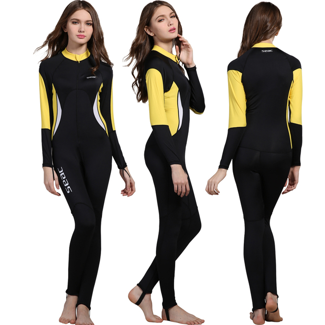 72bd73495a rashguard women skin dive wetsuit kitesurf full body long sleeve swimsuit