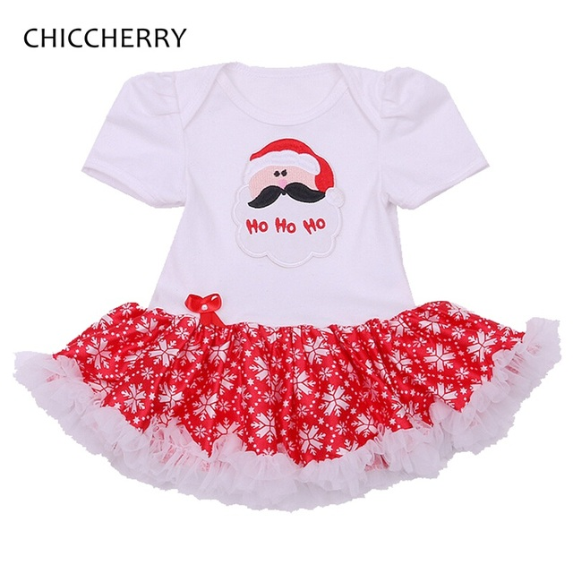 Santa Claus Baby Christmas Costumes for Kids Girls Red Christmas Dress Vestido Robe Bebe Fille Baby Girl Clothes Infant Clothing