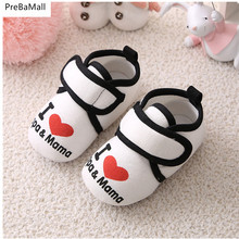 Newborn Baby First Walkers Soft Infant Toddler Shoes Cute Bow Soles Crib