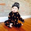 Amor Do Coração Do Bebê Menina Bodysuits para 6 a 24 Meses de Roupas de Bebê Menino
