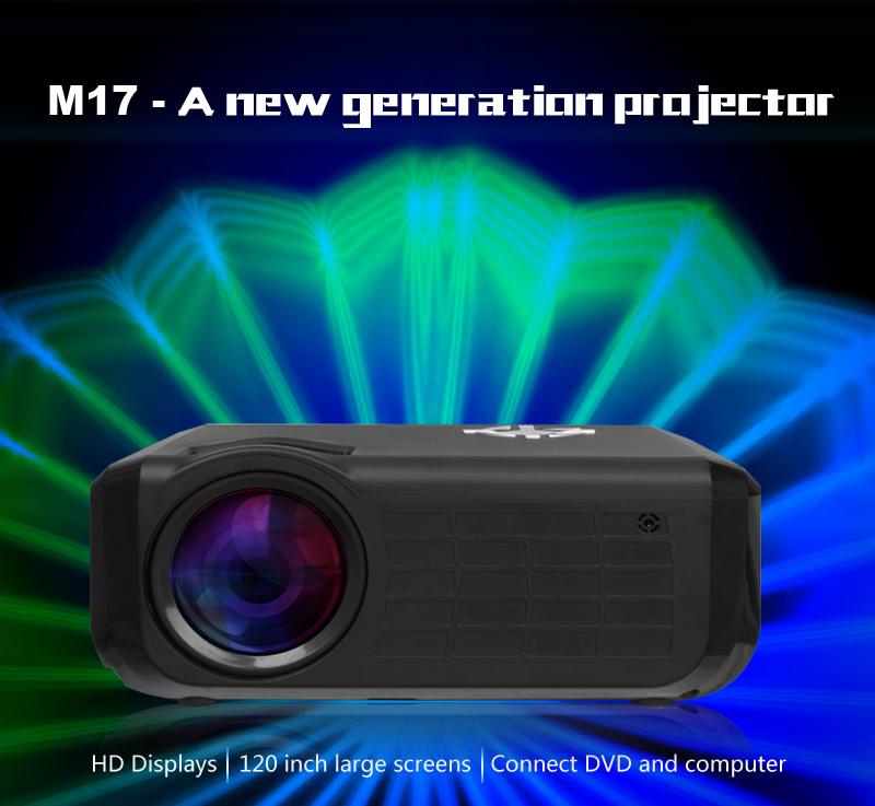 M17 Mini Projector Full HD (1)