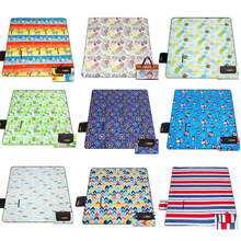 200 * 200cm Camping Mats Moistureproof Outdoor Picnic Beach Mat Baby Climb Plaid Blanket Beach Joga Alpinizmas 600D Oxford pad
