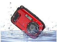 16MP водостойкая камера М 10 M 8X Zoom подводная Противоударная Цифровая камера 2,7 дюймов ЖК-камеры