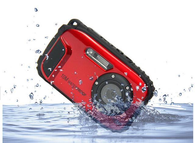 16MP Waterproof Camera 10M 8X Zoom Underwater Shockproof Digital Camera 2.7inch LCD Cameras