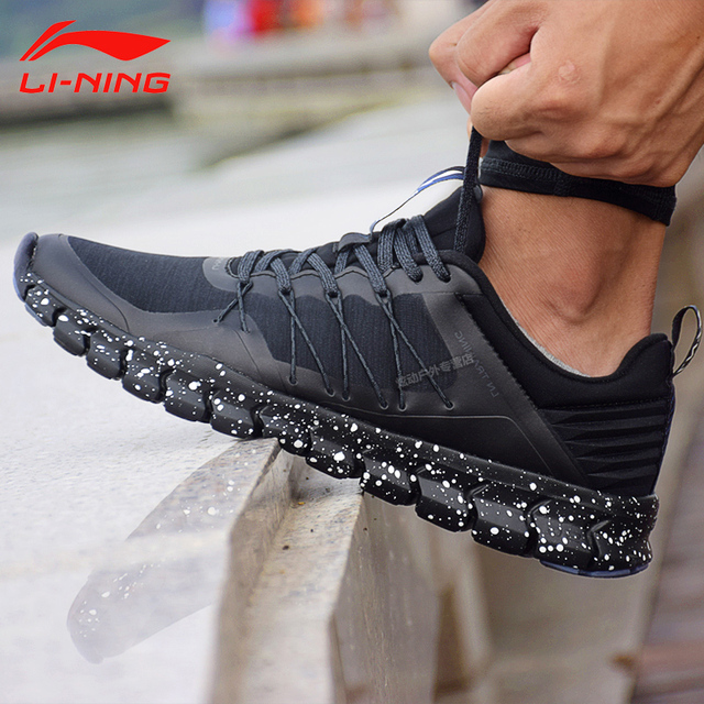 d08e75350 Li-Ning Men 24H Training Shoes Light Wearable LiNing Sports Shoes Breathable  Anti-Slip Sneakers AFHM027