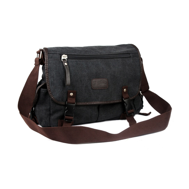 Men Business Crossbody Bag Printing Travel Handbag Vintage Men's Messenger Bags Canvas Shoulder Handbag 5