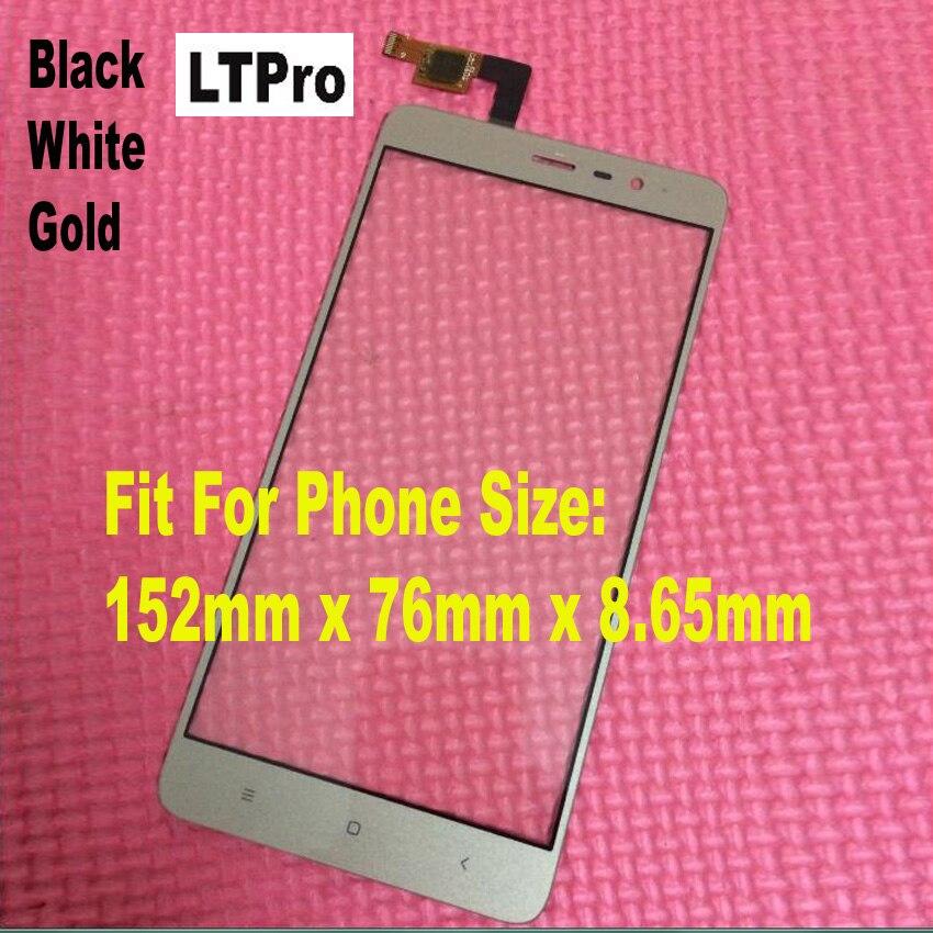 LTPro Superiore Dello Schermo di Tocco Digitizer Vetro Sensor Per Xiaomi Redmi Note 3 Pro versione speciale 152mm SE Telefono sostituzione