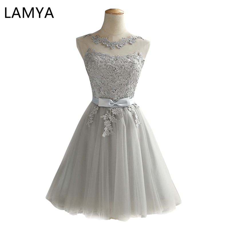 LAMYA Short   Prom     Dresses   2019 Sexy Backless Lace Up   Prom   Gown Formal   Dress   Women Occasion Party   Dresses   Robe De Soiree