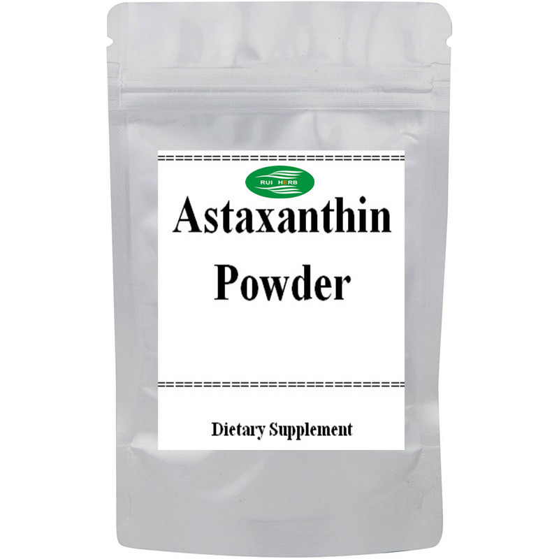 200gram Natural Astaxanthin 2.5% Powder Powerful Anti-oxidant free shipping natural astaxanthin powder 1