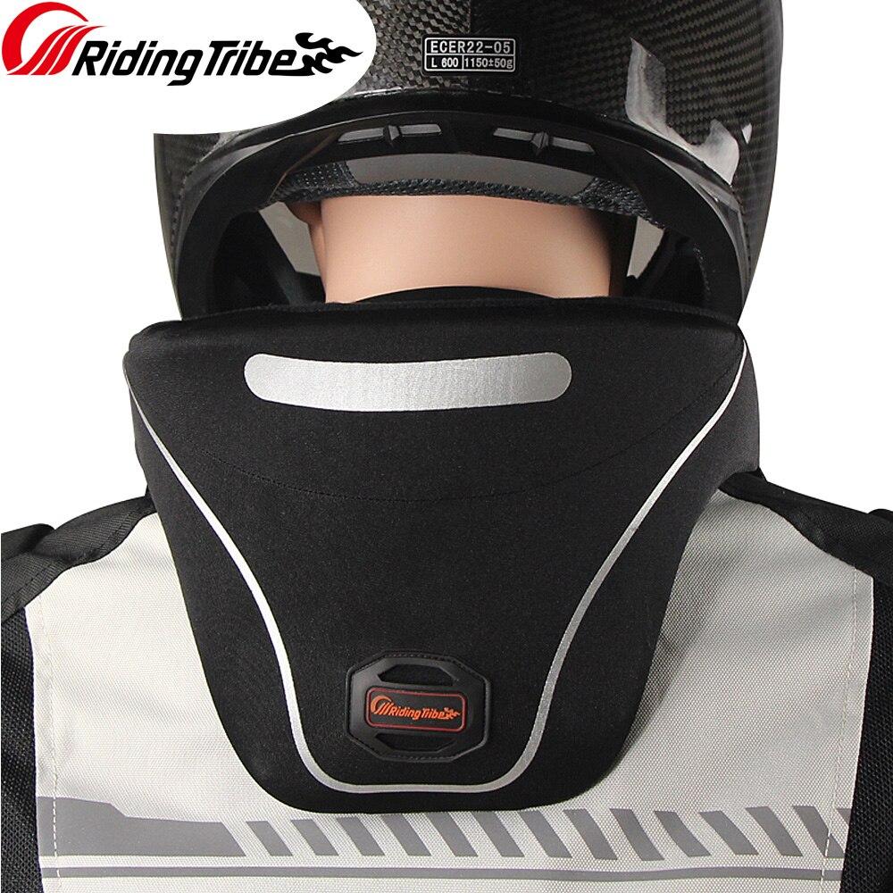 Reiten Tribe 2020 Neue Halsschutz Motorrad Neck Brace Schutz Reflektierende Moto Offroad Schutz Getriebe Unterstützung Helm HX-P24