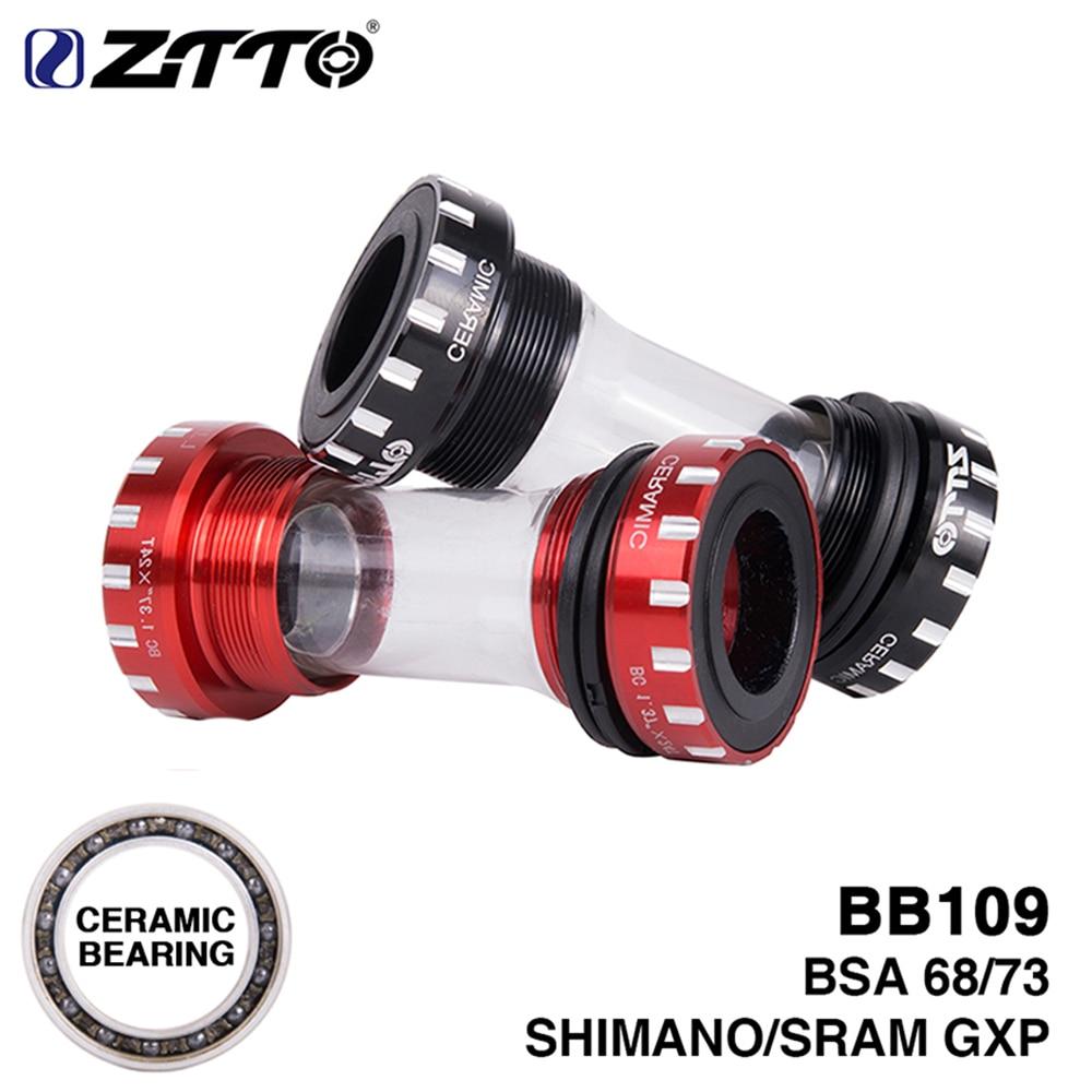 ZTTO CERAMIC Rodamiento BB109 BSA 68 73 Eje de bicicleta MTB - Ciclismo
