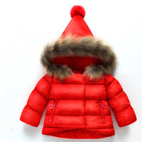 Bán lẻ Kid Toddler Gái Áo Coat Polka Dot pattern Áo Jacket Cho Trẻ Em Outwear dễ thương Quần Áo Mùa Đông Ấm Bé Gái Quần Áo
