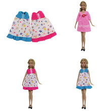 1Pc Doll Pregnant Dress Clothes 30cm Doll Role Play Clothing Accessories(China)