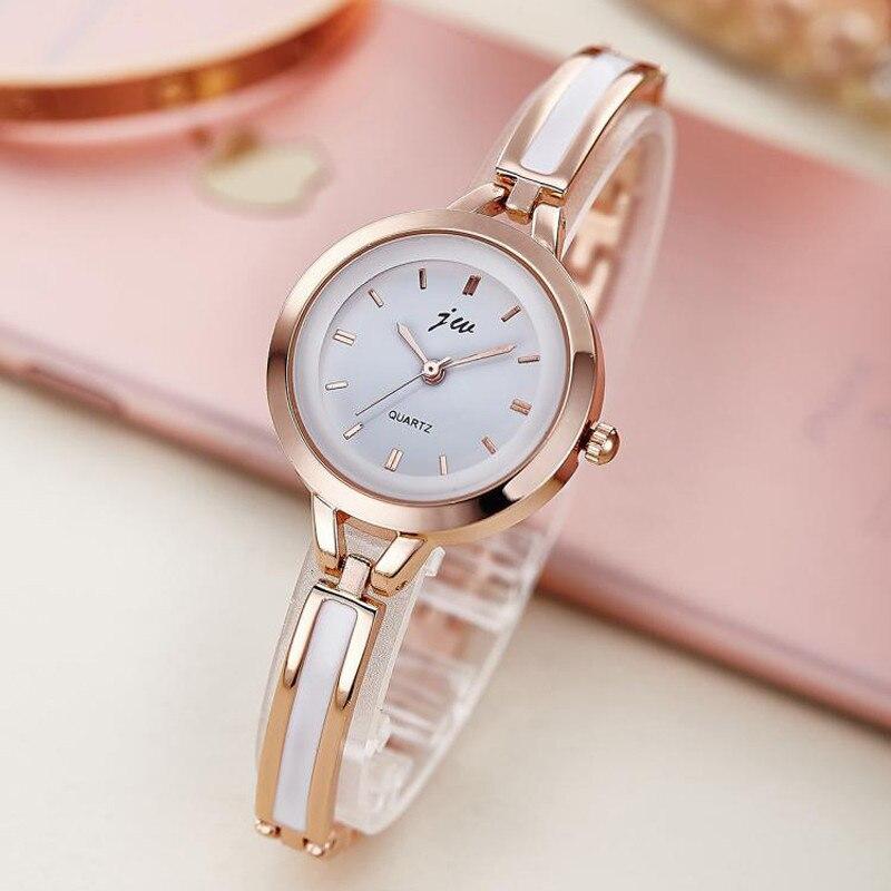 Brand Luxury Crystal Rose Gold Watches Women Fashion Bracelet Quartz Watch Women Dress Watch Relogio Feminino orologio donna 3