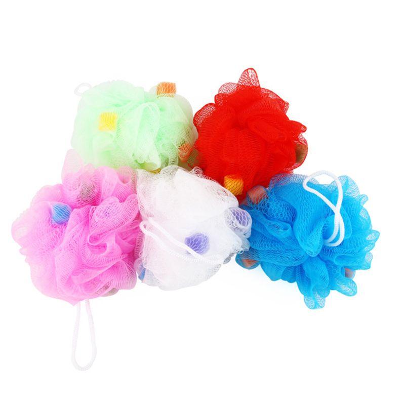 1 Pc Große Bunte Blume Bad Körper Waschen Schaum Mesh Net Dusche Luffa Weichen Schwamm Blasen Badezimmer Wannen Kühlen Zufällig Farbe Vertrieb Von QualitäTssicherung
