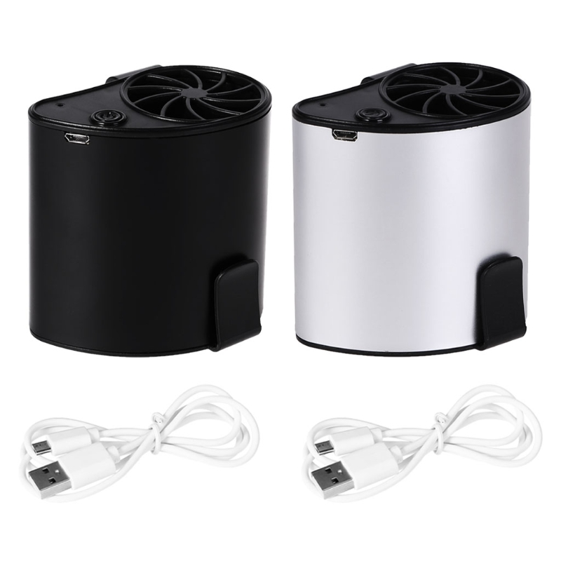 Outdoor Camping Tool  Mini Portable Waist Fan USB Rechargeable Air Conditioner Working Camping Equipment|Outdoor Tools| |  - title=