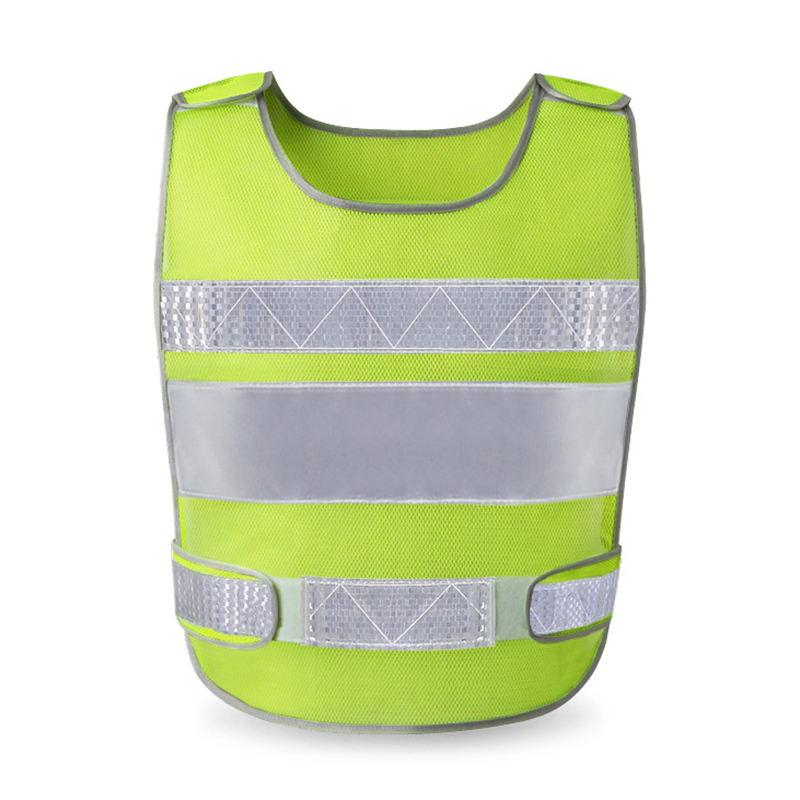 Reflective Vest Outdoor Working High Visibility Safety Clothes Breathable Protective Vest For Road Traffic Running Cycling Sport new style breathable mesh high visibility reflective traffic safety cycling vest printable words logo