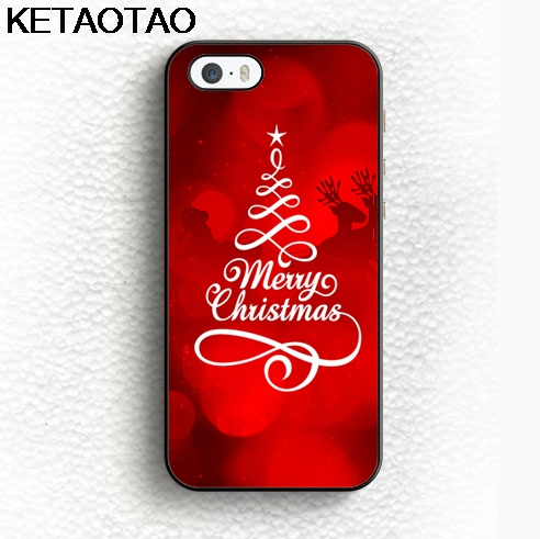 KETAOTAO Merry <font><b>Christmas</b></font> <font><b>Phone</b></font> <font><b>Cases</b></font> for iPhone 4S 5C 6 5S 6S 7 8 Plus X for Samsung <font><b>S6</b></font> 7 8 9 NOTE <font><b>Case</b></font> Soft TPU Rubber Silicone