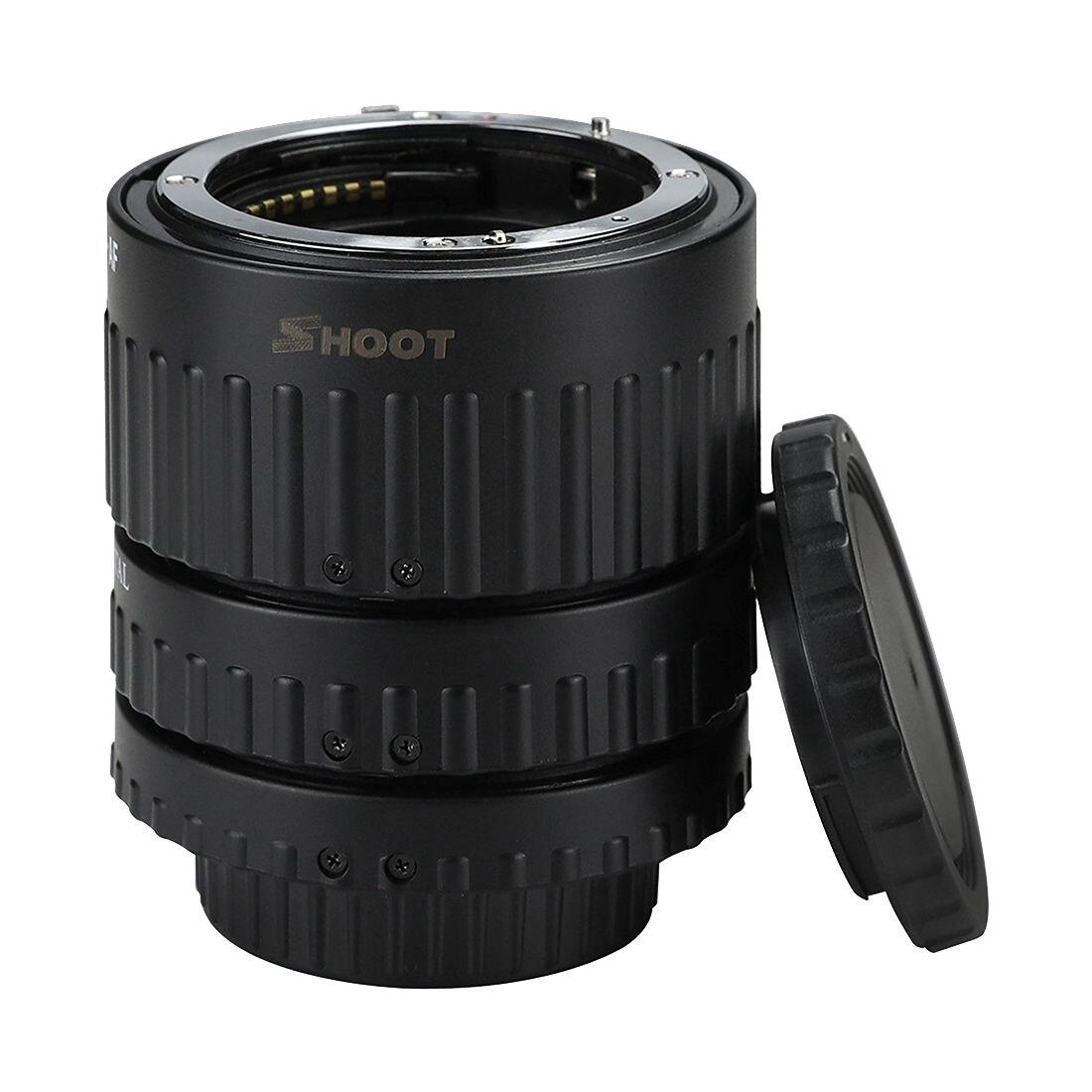 Nuevo Auto Focus Set para DSLR Nikon adaptador AF Macro tubo de extensión para Nikon D90 D3000 5000 D300 d600 y más