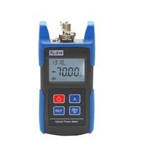Tl510c 50 ~ + 26db mini medidor de potência óptica com conector fc sc