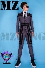 suit(jacket+pants) bar wu kris