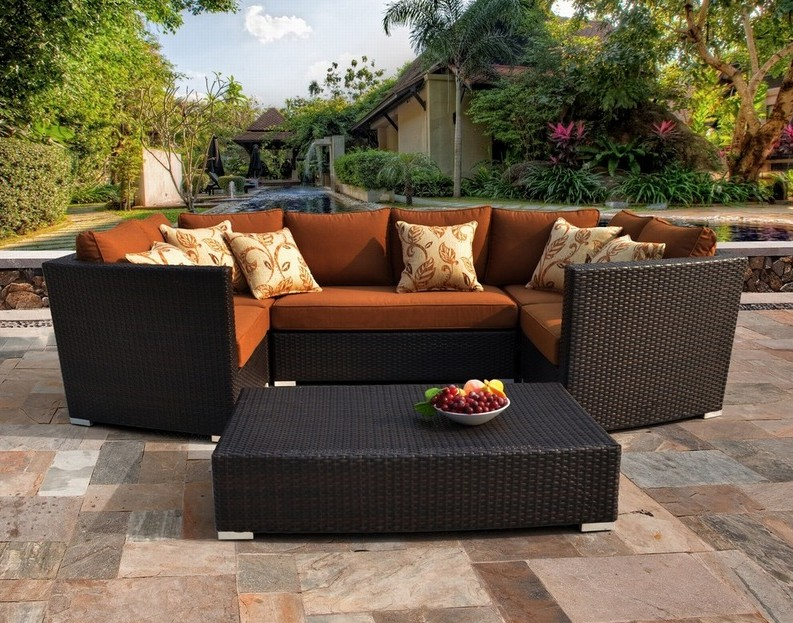 2017 Hot Sale Sirio Batavia 6 Piece Outdoor Garden Furniture Set