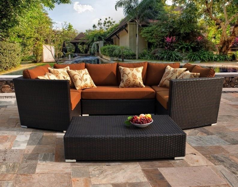2017 Hot Sirio Batavia 6 Piece Outdoor Garden Furniture Set China Mainland
