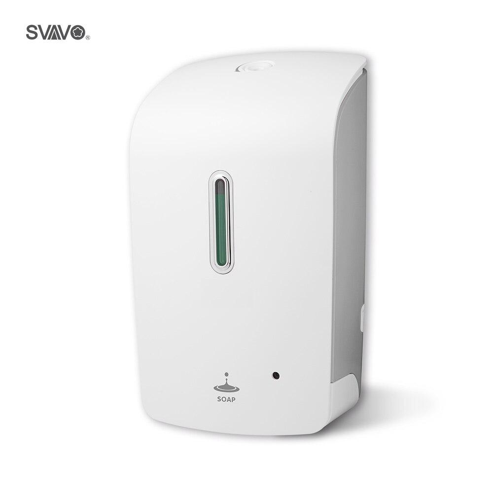 1000ml Capacity Bathroom Accessories Automatic Soap Dispenser Bathroom Washroom Touchless Style Plastic Liquid Soap Dispenser a079 dual head 350ml 2 plastic liquid soap