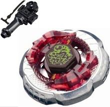 Best Birthday Gift Metal Fight launcher BB 65 Booster Rock Escolpio T125JB BeyBlade Box Set Beyblade-Launchers arma de brinquedo