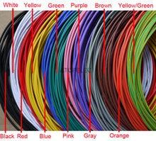O pvc ul1007 estanhou o cabo de cabo de fio encalhado de cobre 300 v 16awg/18awg/20awg/22awg/24awg/26awg/28awg/30awg preto/marrom/vermelho/laranja