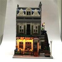 Led Light Up Kit For Lego Building City Street 10243 Parisian Restaurant House Toy Compatible 15010
