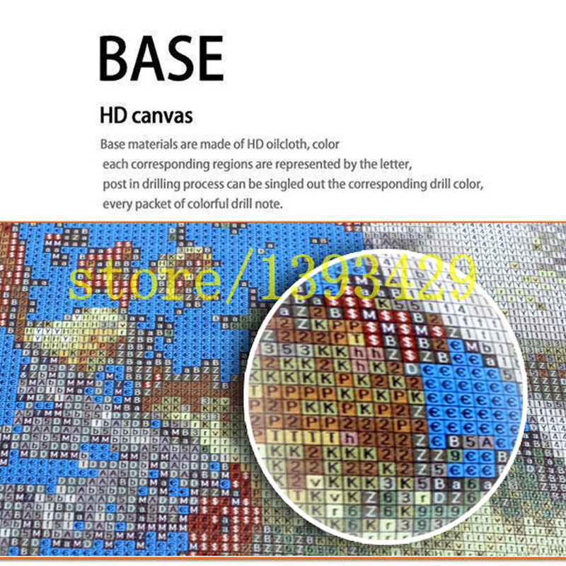 5D Diamond painting cross stitch Shantou Square Round mosaic Resin crystal rhinestone Full embroidery diamond White bone saint in Diamond Painting Cross Stitch from Home Garden