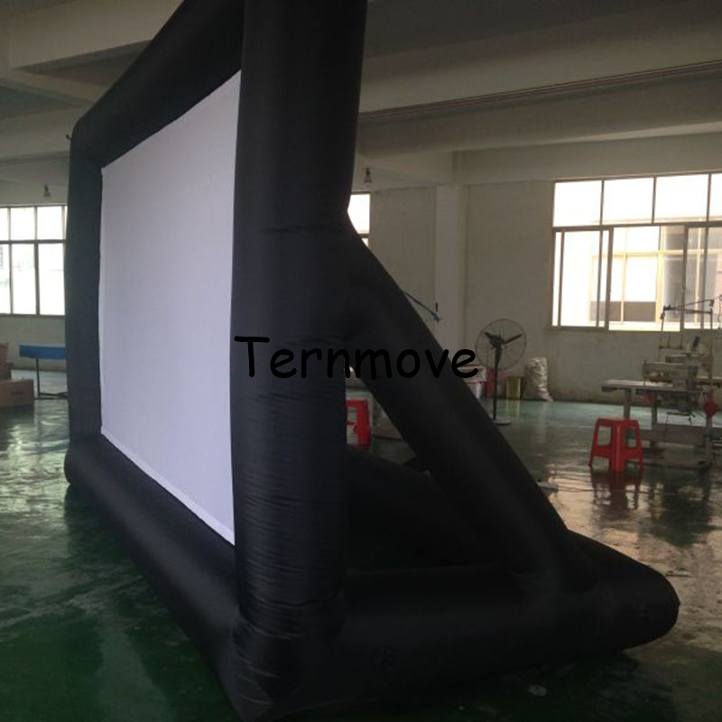 Giant Outdoor Inflatable Movie Screen For Sale Open Air Cinema Home Projector Screen With Factory Price factory price hot sale lutein with cheapest