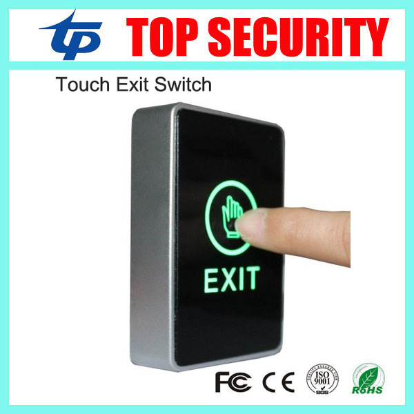 Free shipping door access control push exit button exit switch touch release exit button 50pcs lot 6x6x7mm 4pin g92 tactile tact push button micro switch direct self reset dip top copper free shipping russia