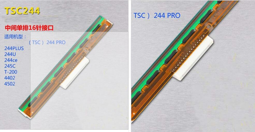 все цены на 100% new original High Quality Printer Print head For  TSC244CE printhead  TSC T-200E tsc244CE Thermal PrintHead On Sale онлайн