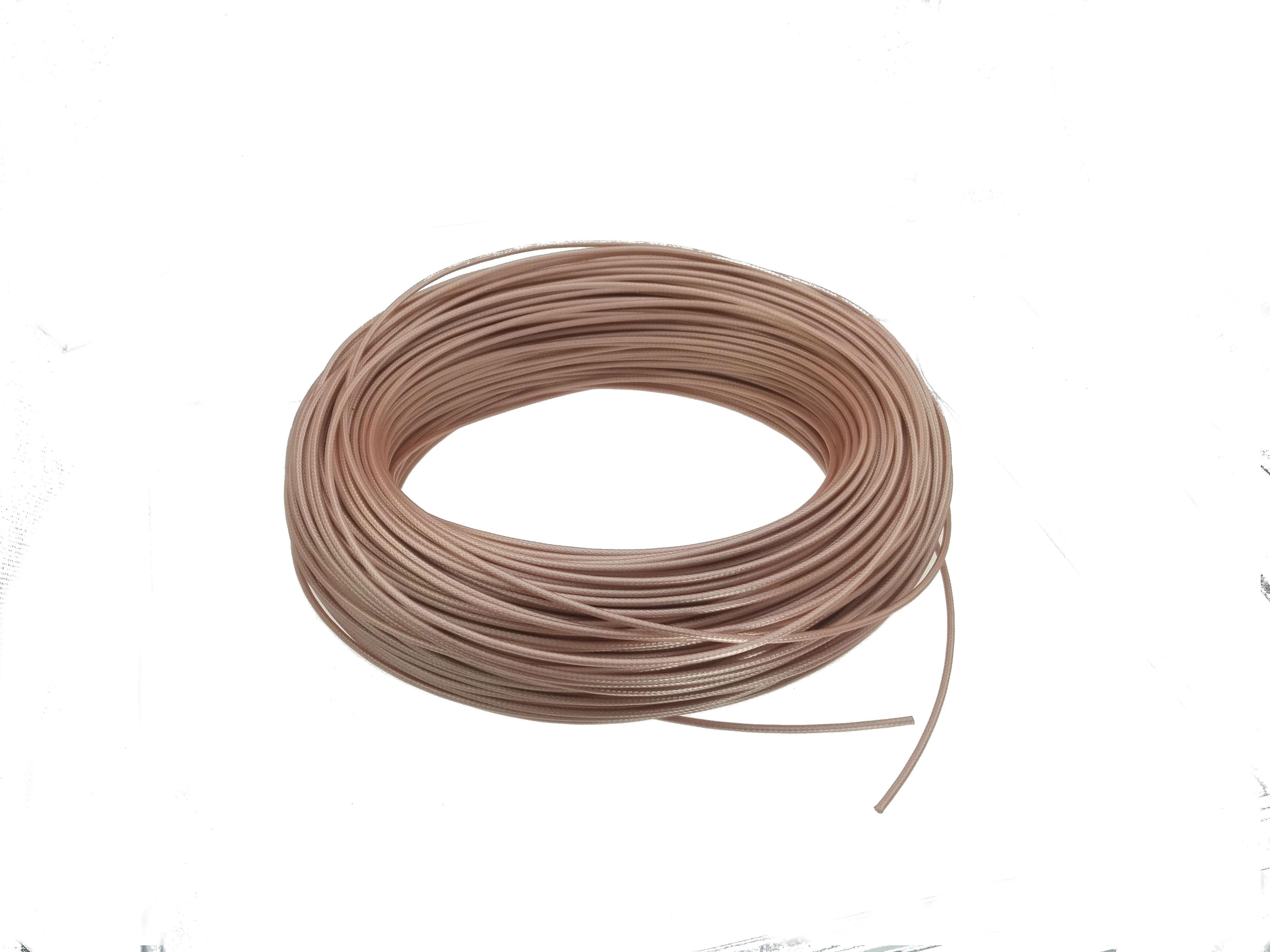 300 Feet RG174 Copper Braid Shielded Flexible RF Coaxial Cable