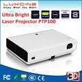 WiFi Inteligente Brillante Estupenda 1080 P Full HD 3D LED Proyector Láser/3800 Lúmenes/5000 Lúmenes Proyector Luz PTP100S