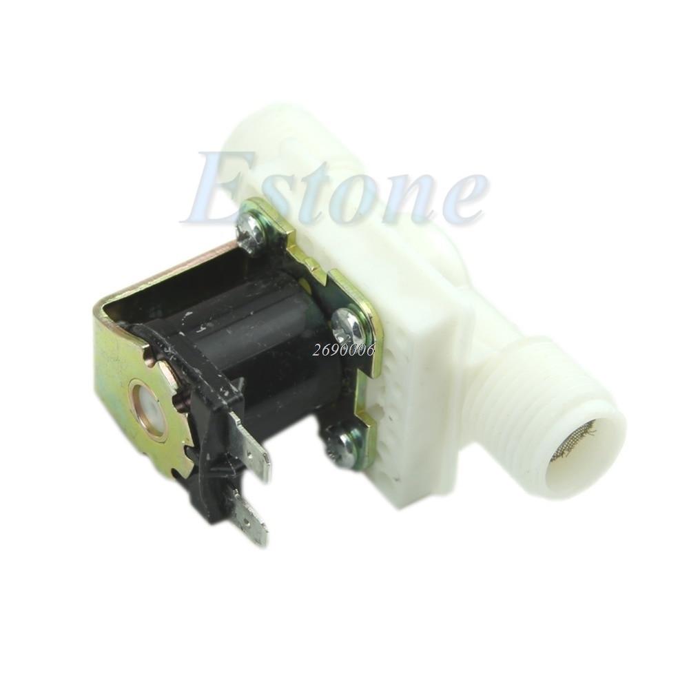 AC220V Electric Solenoid Valve Magnetic N/C Water Air Inlet Flow Switch N/C 1/2