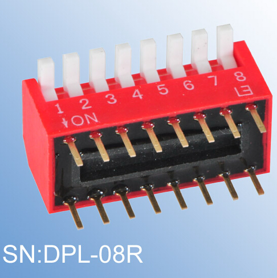 ELEWIND Excessed type of PIANO DIP SWITCH(DPL-08R)