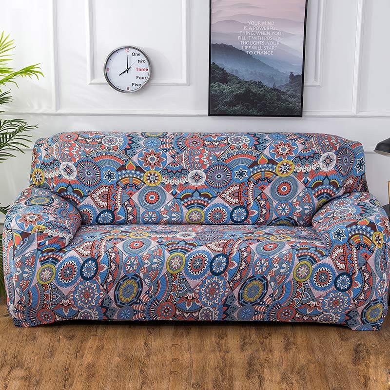 Geometric Colorful Printing Sofa…