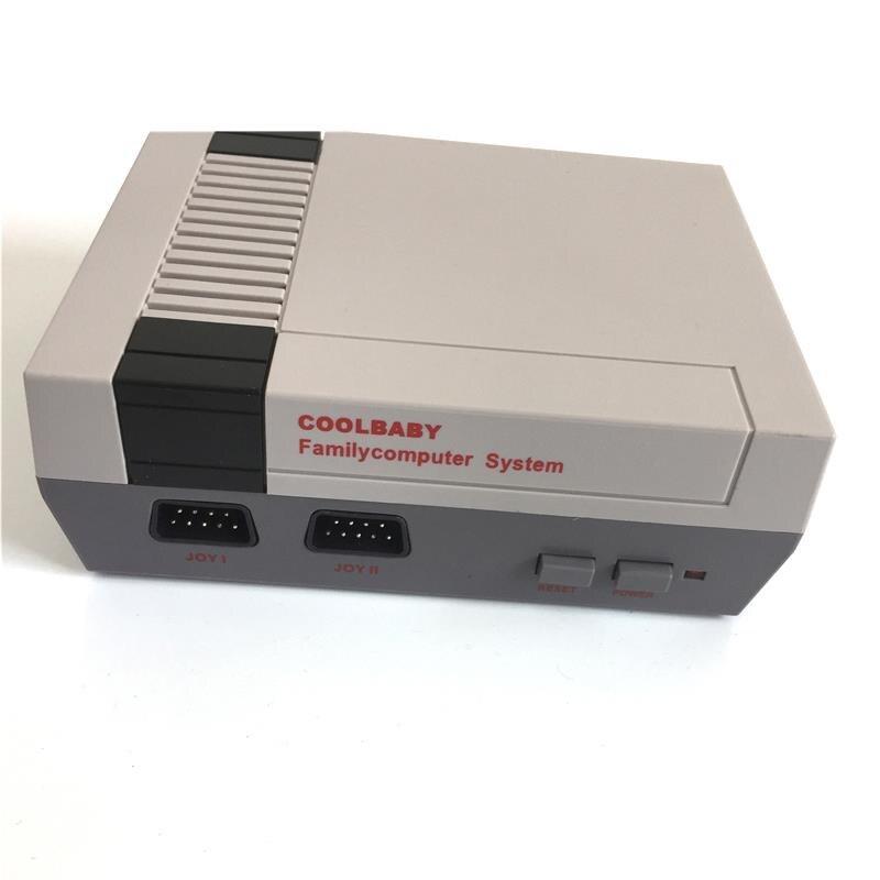 38 RS-38 Coolbaby מיני Tv קונסולת משחקים תמיכה באב 8 Bit רטרו משחק וידאו קונסולת מובנה 600 משחקי כף יד נגן Gaming (קשר Plu (5)